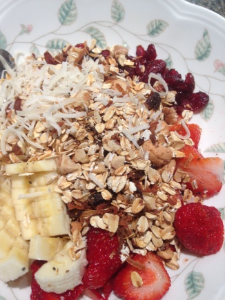 Tuesday Muesli - YUM!