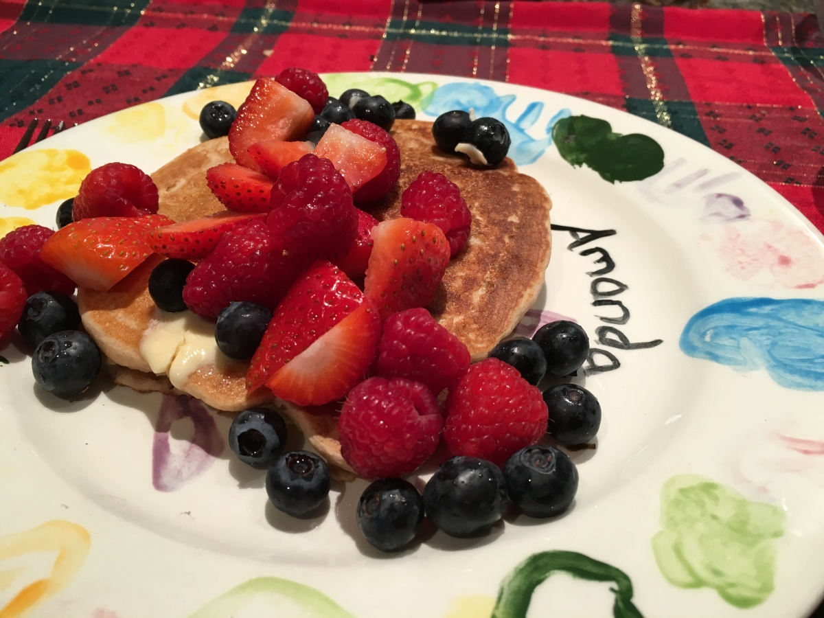 6 Berry FluffyPancakes