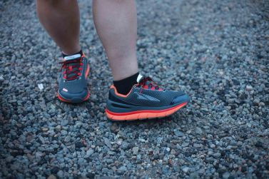 Nisa's BRAND NEW beautiful running shoes!