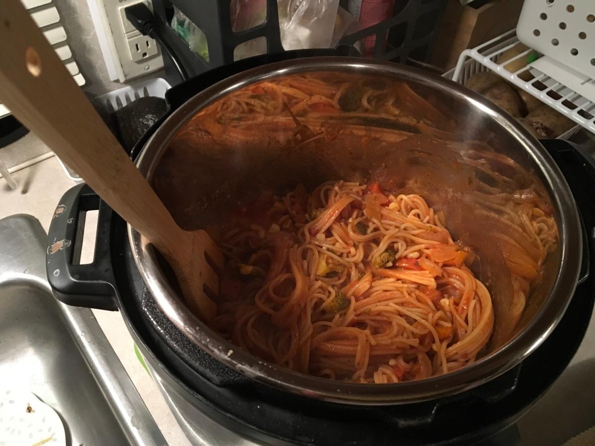 Hot Pasta in 5 Minutes FlatRecipe