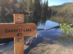 Barrett Lake - go there in the MORNING