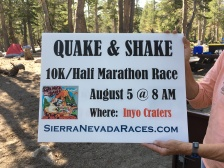 Mark your calendars! This was a tough one - we ran in SAND.