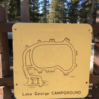RARE: A map of the campground.