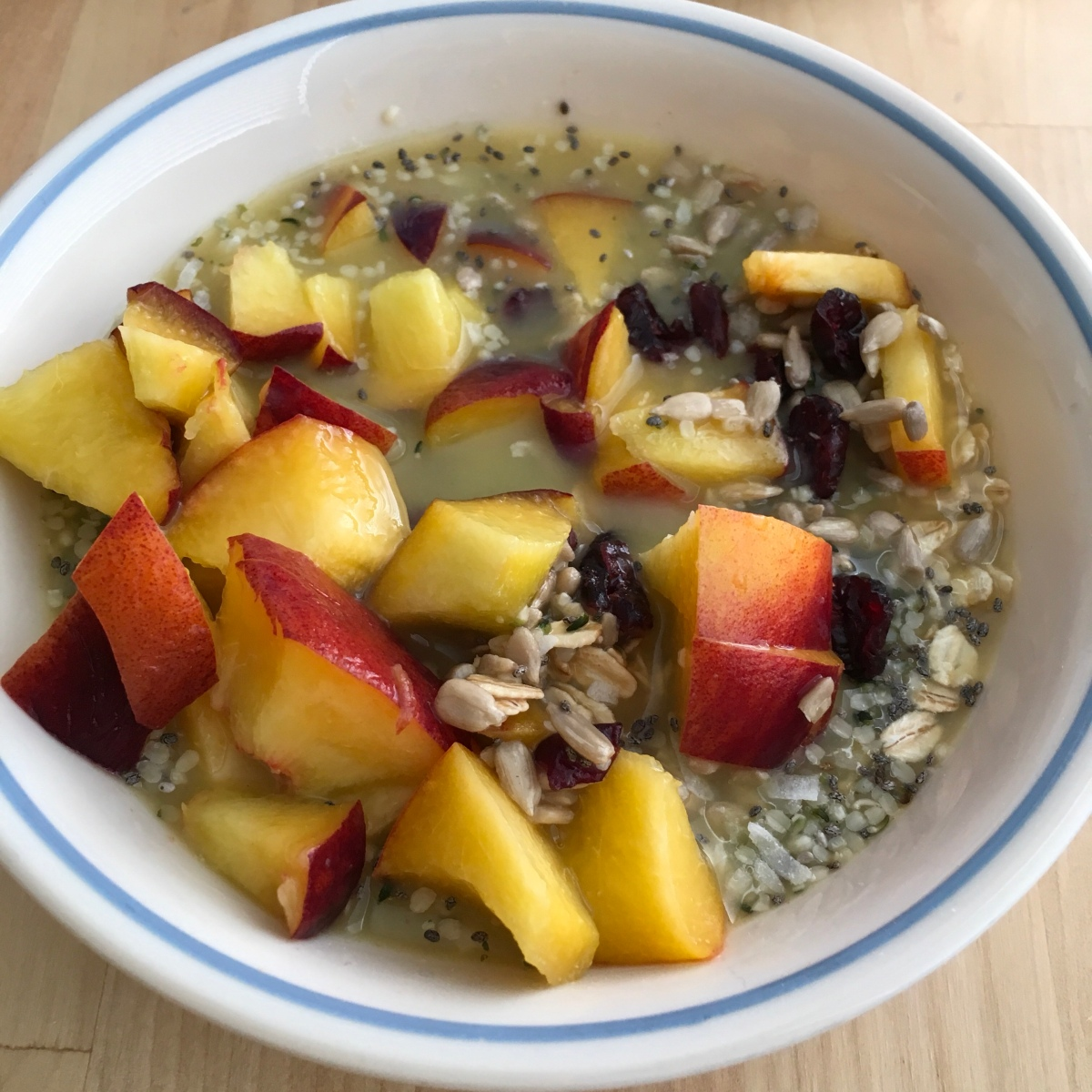 Chilly Peach Oats andMore!