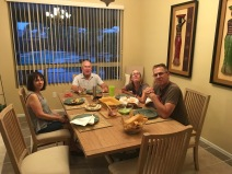 Dinner with family!