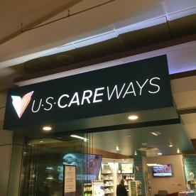 U-Scare-Ways! Not good signage.