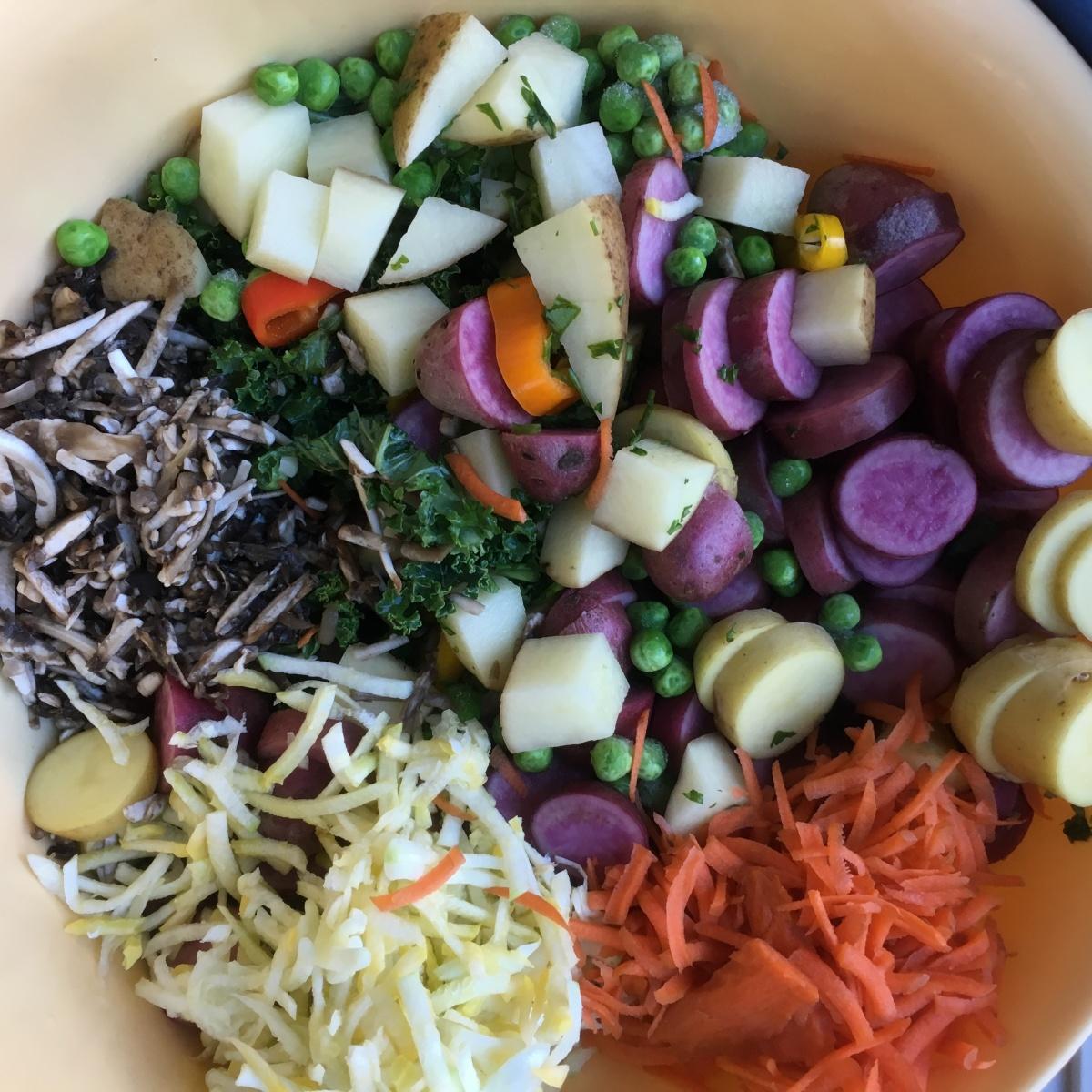 Simple Potato Vegetable VeganSoup